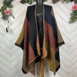 Sweaters - Shrug Poncho One Size
